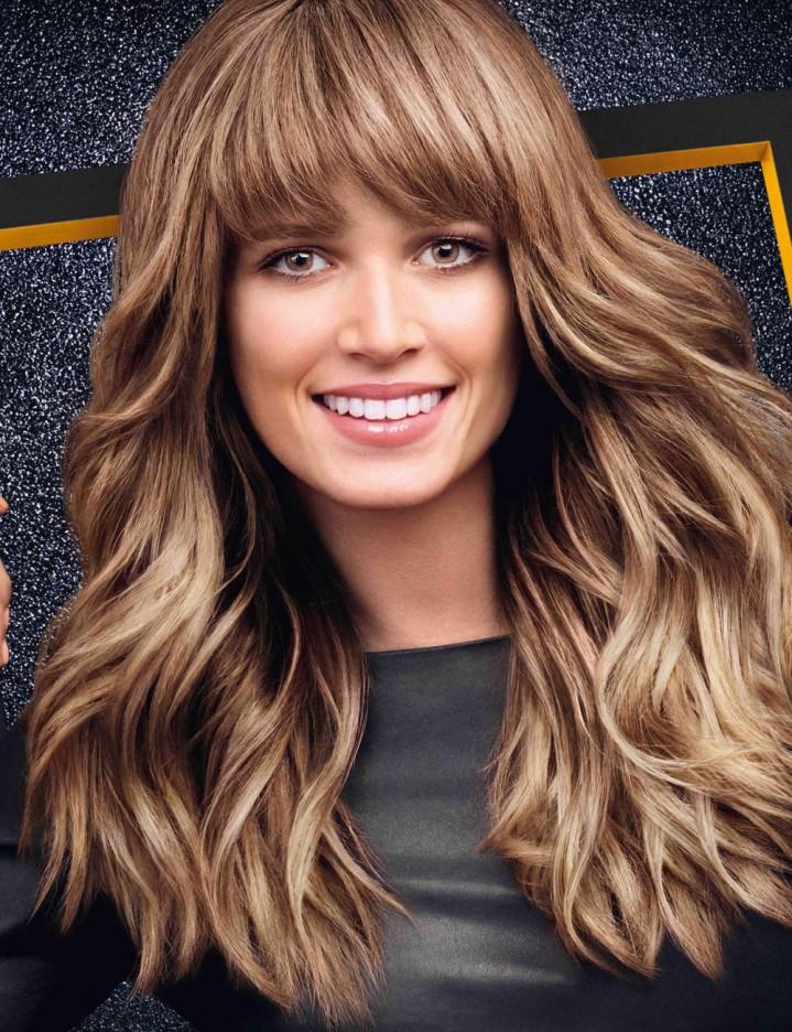 Couleur caramel sur cheveux
